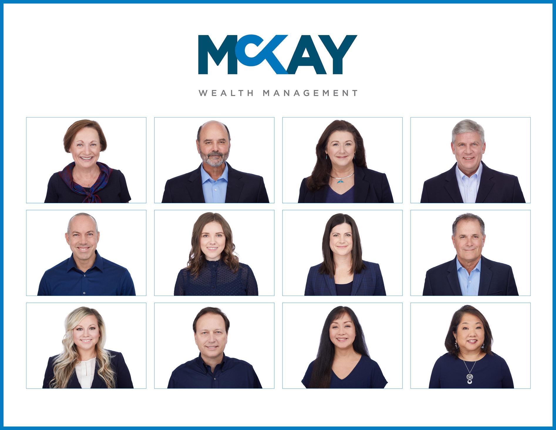 McKay Wealth Management Headshot Grid