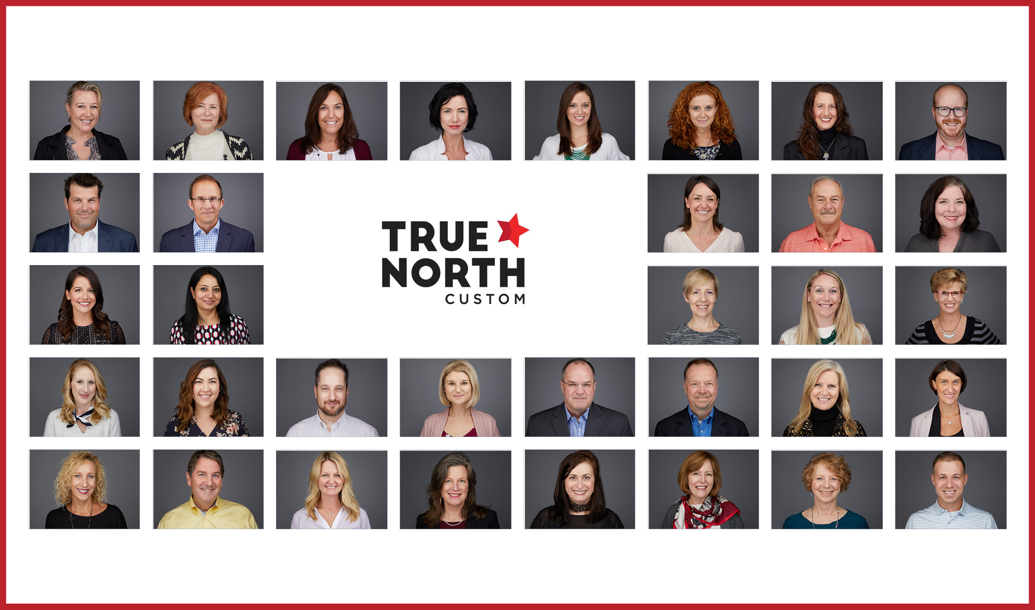 True North Headshot Grid